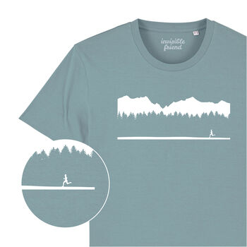 Wild Running Organic Cotton T Shirt