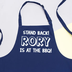 Personalised Bbq Apron - new in home