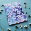 Metallic Bloom Daisy Chain A5 Notebook