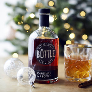 Christmas In A Bottle Cocktail - thank you gifts