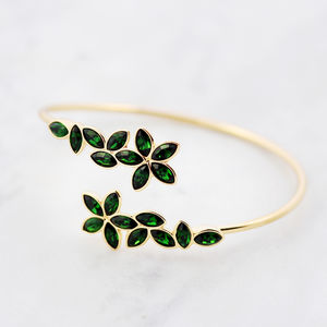 Statement Sakura Bangle - bracelets & bangles