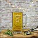 Personalised Tankard 'Dog Beers'