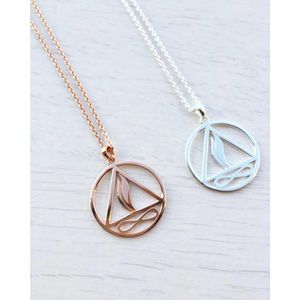 Twin Flame Pendant - necklaces & pendants