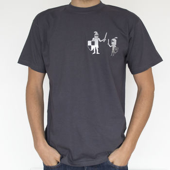 Knight In Shining Armour Daddy And Me T Shirt