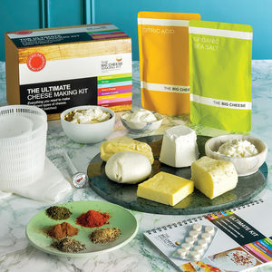 The Ultimate Cheese Making Kit - gifts for friends