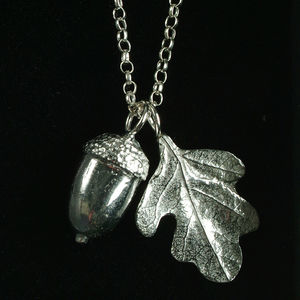 'From Little Acorns' Christening Necklace For Girls - children's accessories