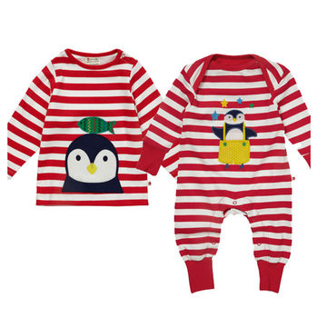 Sibling Penguin Clothing Gift Set
