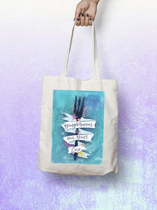 Dinglehopper Hair Don't Care Little Mermaid Tote