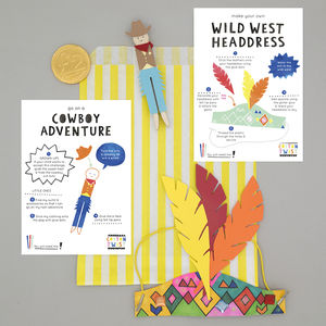 Cowboy Party Bag - children's parties