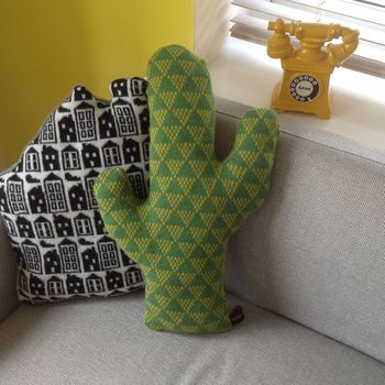 Not So Prickly Cactus Cushion