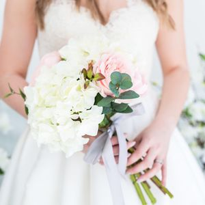 Classic Faux Bridal Bouquet