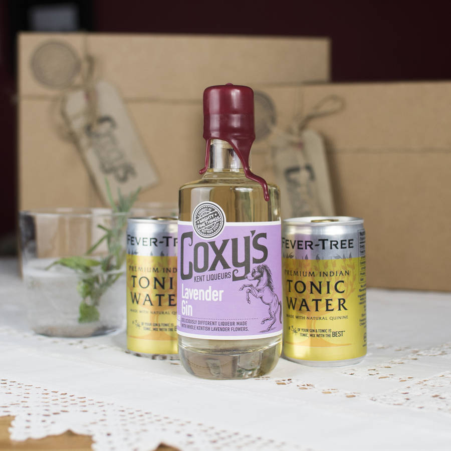 Coxy's Lavender Gin And Tonic Set