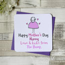 Personalised Grandmother Mother's Day Card From Bump