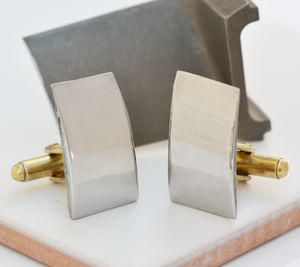 Original Vulcan Bomber Engine Part Cufflinks