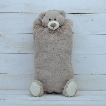 Teddy Hot Water Bottle Cover And Bottle Included