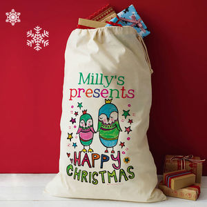 Personalised Christmas Presents Sacks