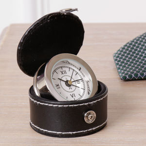 Gentlemen's Travel Alarm Clock - home accessories