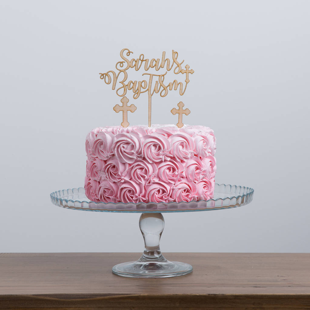 Laser Cut Birthday Cake Topper Uk