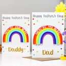 Rainbow Hero Father's Day Card
