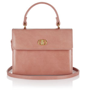 Soft Baby Pink Nappa Leather Handbag