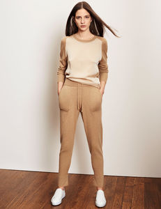 Casual Luxe Lounge Trousers - women's fashion