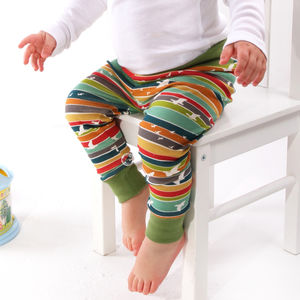 Bright Stripe Leggings - babies' trousers