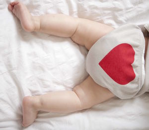 New Baby Summer Gift Heart Bloomers - underwear
