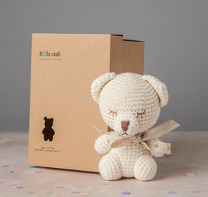 Personalised Lizzie Polar Bear Soft Toy