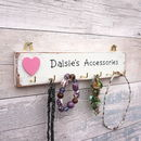 Personalised Jewellery/Accessory Hooks