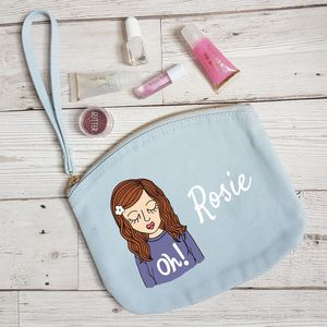 Personalised Childrens Wristlet Purse With Name On