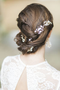 Violette Pearl And Crystal Garland