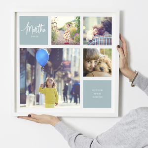 Personalised 'Child' Photo Print - new in prints & art
