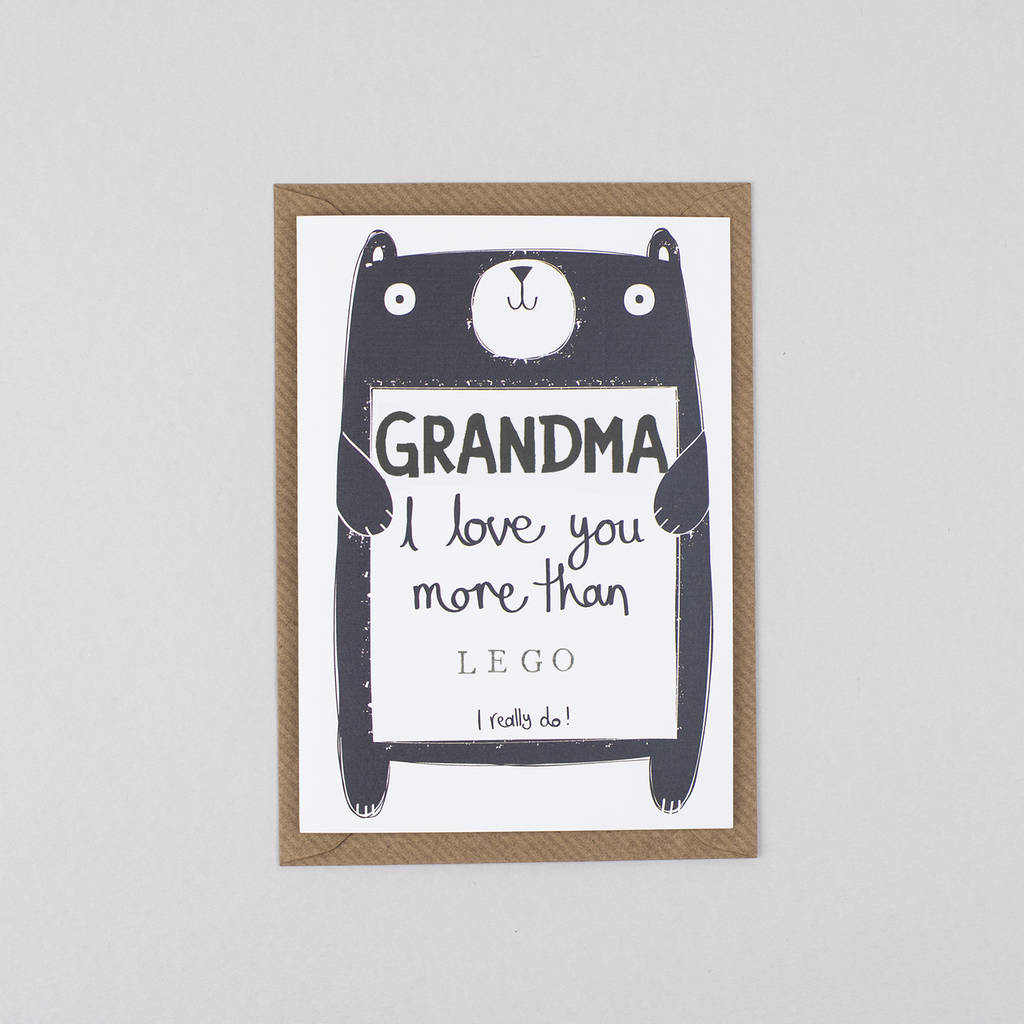 Mothers Day Card For Grandma Gran Nan Nana Or Granny