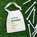 Personalised Golfing Pun Tee Bag
