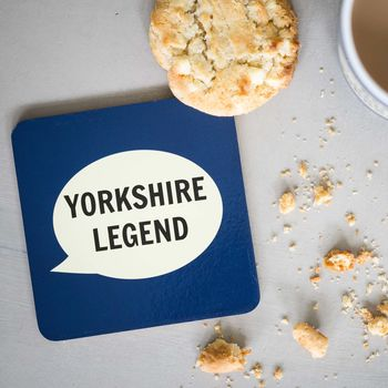 'Yorkshire Legend' Coaster