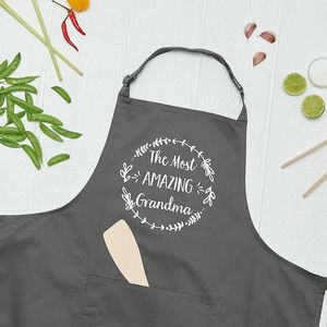 The Most Amazing Grandma Cooking Apron - aprons