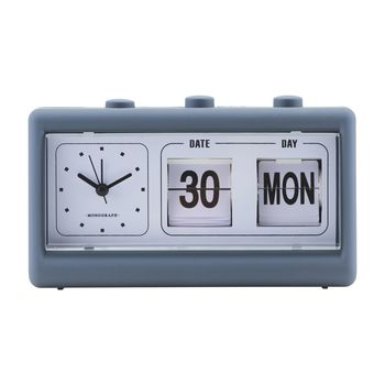 Retro Blue Alarm Clock