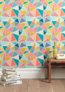 Tress Multi Wallpaper - the geometric trend