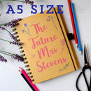 Personalised Floral Future Mrs Notebook