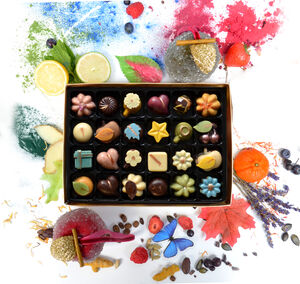Nono Cocoa 24 Collection Vegan Chocolate Gift Box