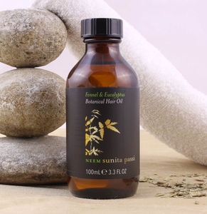 Neem Fennel And Eucalyptus Botanical Hair Oil
