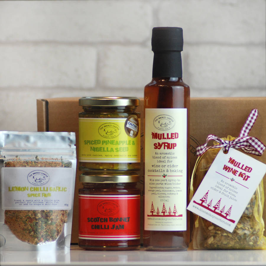 Christmas Joy Sauce, Spice And Syrup Hamper