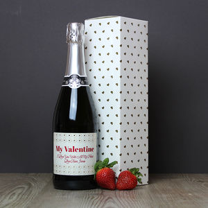 Personalised Prosecco - food & drink
