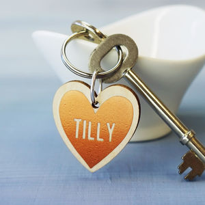Personalised Special Date Keyring