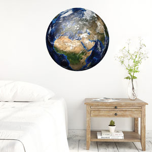 Educational Earth Wall Stickers - decorative accessories