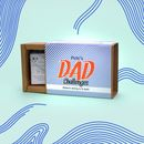 Personalised Dad Gift Challenges Game