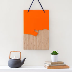 Coastline Wooden And Acrylic Wall Hanging - shop by personality