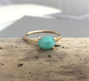Amazonite Ring - rings