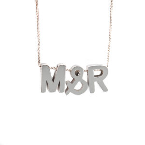 Personalised Name/Word Necklace - new in jewellery