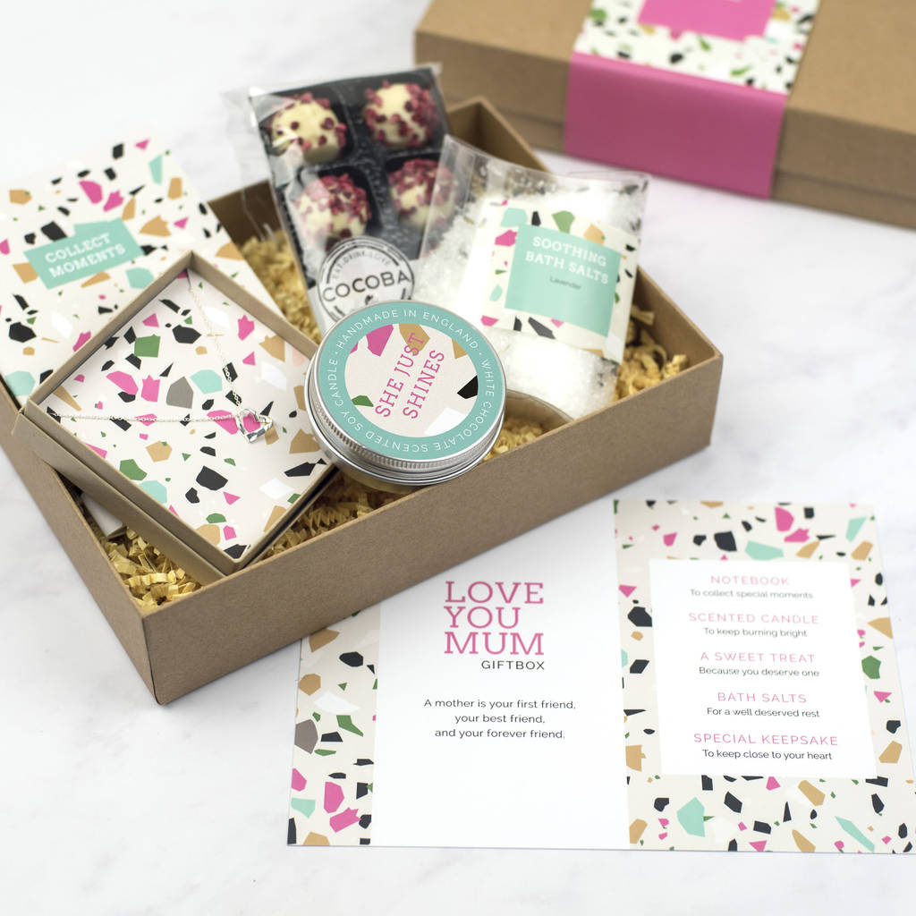 Personalised Mother S Day Gift Set